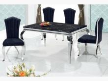 [全新] 128黑絨餐椅特價3900餐椅全新