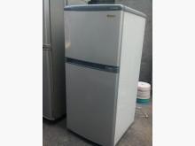 [9成新] 東芝進口小雙門120升冰箱冰箱無破損有使用痕跡
