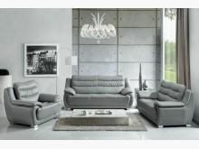 [全新] 1091型灰皮沙發全組32600多件沙發組全新