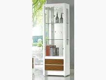 [全新] 威尼斯2尺白色展示櫃 桃園區免運其它櫥櫃全新