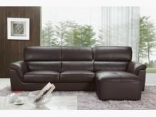 [全新] 瑞克L型皮沙發特價27800L型沙發全新