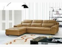 [全新] 洛克咖啡L型皮沙發特價24800L型沙發全新