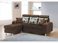 [全新] 艾列克L型布沙發特價13800L型沙發全新