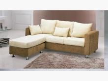 [全新] 咖啡小L型布沙發特價13500L型沙發全新