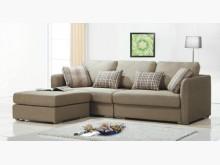 [全新] 奧蘭多卡其色L型布沙發27800L型沙發全新
