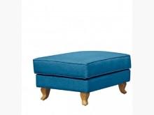 [全新] 夏洛克藍布輔助椅特價3900多件沙發組全新