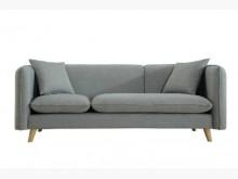 [全新] 莉莉娜灰布三人沙發特價11800多件沙發組全新