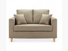 [全新] 艾斯卡雙人淺咖布沙發特價6900雙人沙發全新