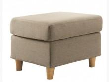 [全新] 艾斯卡咖啡布輔助椅特價1600多件沙發組全新
