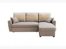 [全新] 淺咖小L型布沙發床特價21800沙發床全新