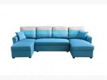 [全新] 天空藍大L型布沙發床組29800L型沙發全新