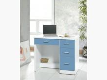 [全新] 藍白3.2尺書桌下座特價4900書桌/椅全新