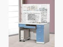 [全新] 藍白色4尺書桌下座特價$5800書桌/椅全新
