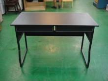 [全新] BN-AJI*全新馬鞍皮雙抽屜書電腦桌/椅全新