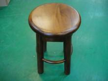 [全新] 石BN-IJJ*全新桃花心木板椅餐椅全新