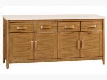 [全新] 喬森柚木色5.4尺碗櫃組下座碗盤櫥櫃全新
