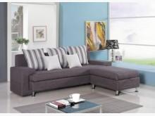 [全新] 福斯L型布沙發L型沙發全新