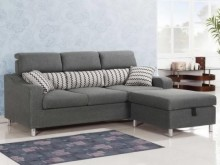 [全新] 金田L型布沙發L型沙發全新