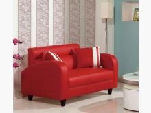 [全新] 劍橋二人座紅色皮沙發雙人沙發全新