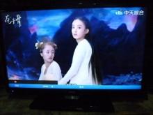 [8成新] 明碁LED32吋色彩鮮艷畫質佳電視有輕微破損