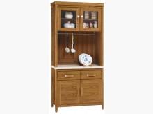 [全新] 3尺石面碗盤餐櫃全組$12900碗盤櫥櫃全新