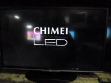 [8成新] 奇美LED37吋液晶色彩鮮艷電視有輕微破損