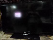 明碁32吋LED色彩鮮艷畫質佳5電視有輕微破損