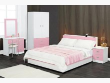 [全新] 時尚傢俱-A全新}日式風5尺床組雙人床架全新