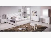 [全新] 艾蜜莉白色6尺床台雙人床架全新