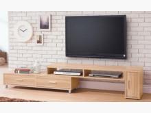 [全新] 肯特原木色4.6尺伸縮長櫃電視櫃全新