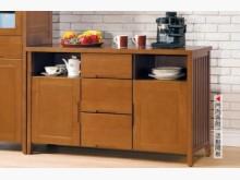 [全新] 依娜柚木色4.2尺收納櫃收納櫃全新