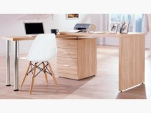 盧卡斯4.8尺旋轉功能桌書桌/椅全新