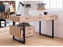 [全新] 雷休原木色5尺書桌書桌/椅全新
