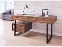 [全新] 雷休集成木紋5尺書桌書桌/椅全新