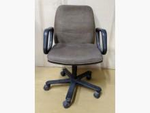 [7成新及以下] 二手布面扶手辦公椅 可調整高低辦公椅有明顯破損