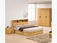 [全新] 狄倫橄欖木5呎床頭箱特價4800雙人床架全新