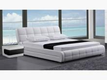 [全新] 艾琳娜6尺白皮雙人床雙人床架全新