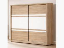 [全新] 金美橡木色7呎推門衣櫃28800衣櫃/衣櫥全新
