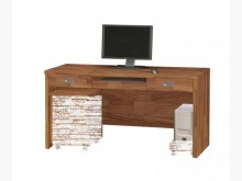 [全新] 肯傑柚木色5尺電腦桌空桌5900電腦桌/椅全新