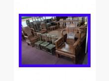 [8成新] 樂居二手傢俱館 花黎木戰國木沙發木製沙發有輕微破損