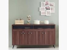 [全新] 奧斯汀胡桃5尺餐櫃碗盤櫥櫃全新