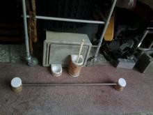 連欣二手傢俱-瓷製衛浴用品五件組其它衛浴用品無破損有使用痕跡