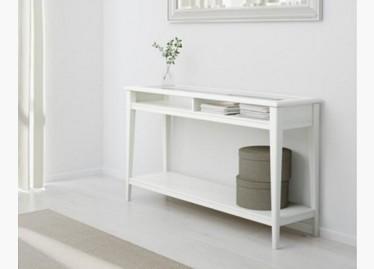 Ikea 591 - Console blanche ikea ...
