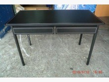 [8成新] 宏品二手 G89馬鞍皮電腦桌書桌/椅有輕微破損