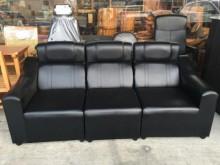 [全新] 全新A324-5黑色3人皮沙發多件沙發組全新