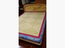 [9成新] 五尺雙人床頭片床頭櫃無破損有使用痕跡