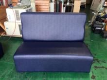 [全新] ZX328-1全新藍色雙人皮沙發雙人沙發全新