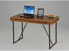 [全新] 2001811-2三抽鐵鍊書桌電腦桌/椅全新
