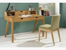 [全新] 2001823-1經典栓木書桌電腦桌/椅全新