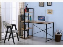 [全新] 2001826-3艾美書架型書桌書桌/椅全新